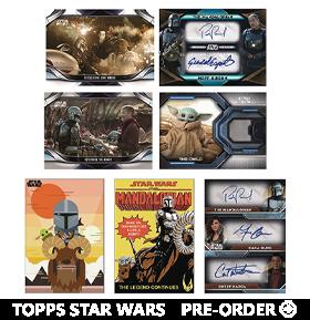 The Mandalorian 2021 Season 2 Trading Cards Hobby Box
