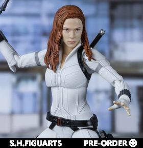 Black Widow S.H.Figuarts Black Widow (White Snow Suit Ver.) Exclusive
