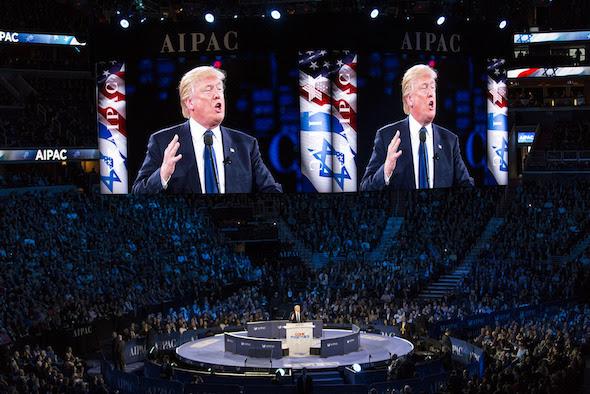 פרעזידענט טראמפ וועט מעגליך אנאנסירן דאס אריבערפירן די אמבאסאדע ביי זיין באזוך אין מדינת ישראל