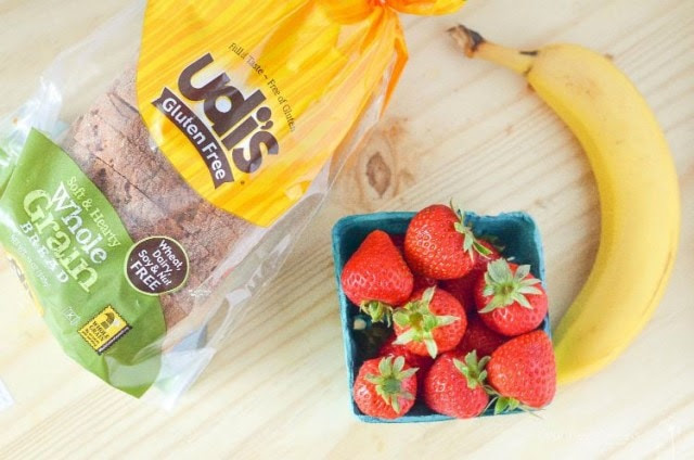 Gluten Free Strawberry Banana French Toast