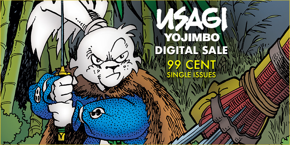 Usagi Yojimbo 99 Cent Single Issue Sale