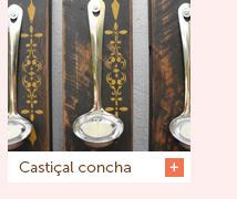 Castiçal concha