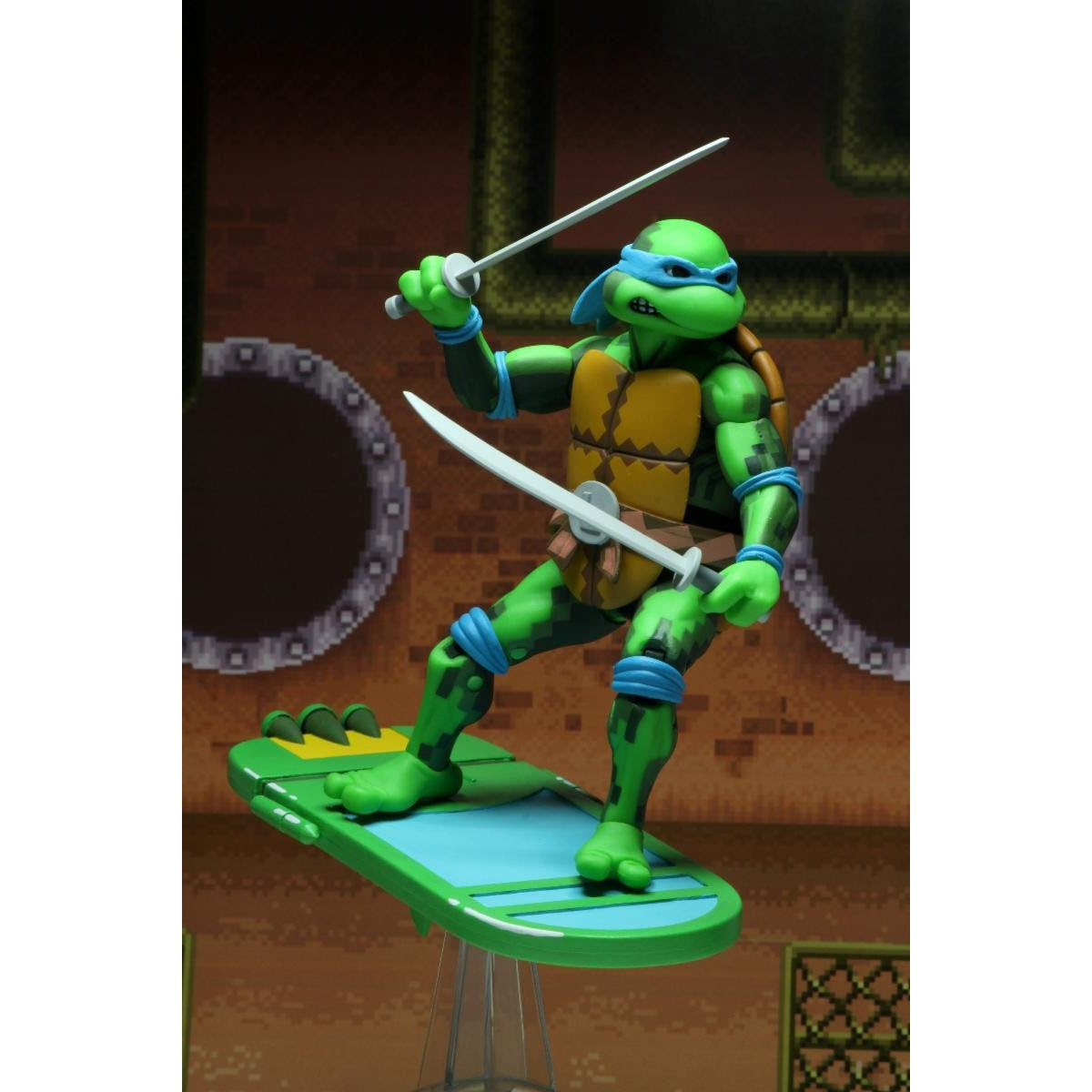 "Image of TMNT: Turtles in Time - 7"" Scale Action Figures - Leonardo"
