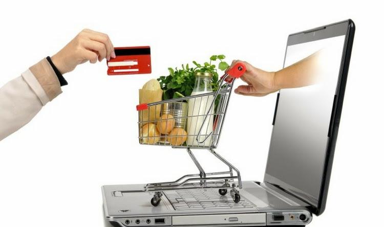 Resultado de imagem para comprar em supermercado online