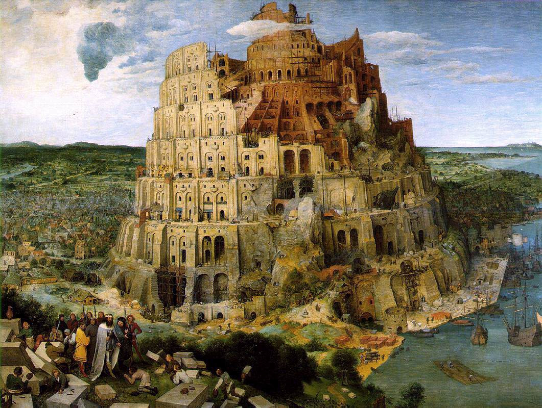 http://upload.wikimedia.org/wikipedia/commons/e/e1/Brueghel-tower-of-babel.jpg