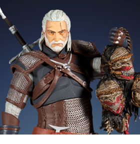 The Witcher Geralt of Rivia Deluxe Figure
