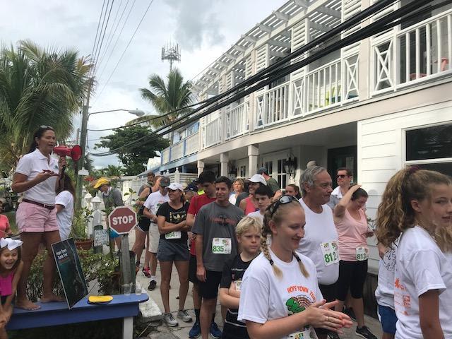 Turtle Trot race start.