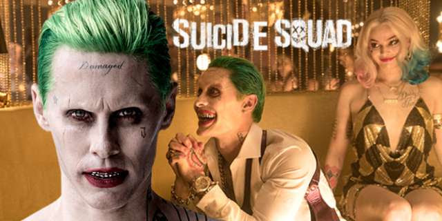 Joker-Jared Leto-Arlequina-Margot Robbie-suicidesquad-e