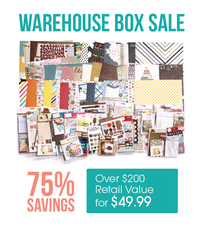 Warehouse Box Sale Simple Stories Scrapbook Obsession