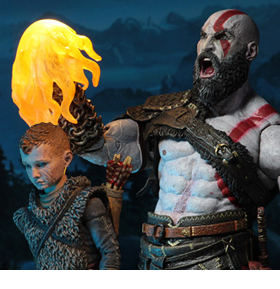 GOD OF WAR ULTIMATE KRATOS & ATREUS TWO-PACK