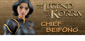 LEGEND OF KORRA CHIEF BEIFONG MODEL KIT