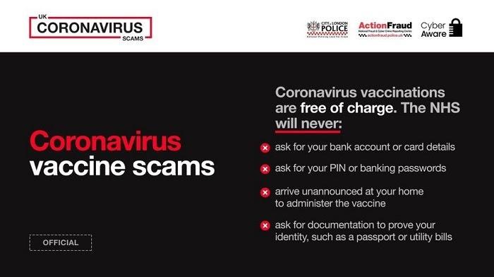 Covid vaccine scam