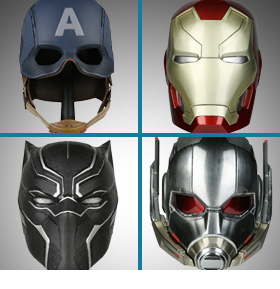 MARVEL 1/3 SCALE HELMET REPLICAS