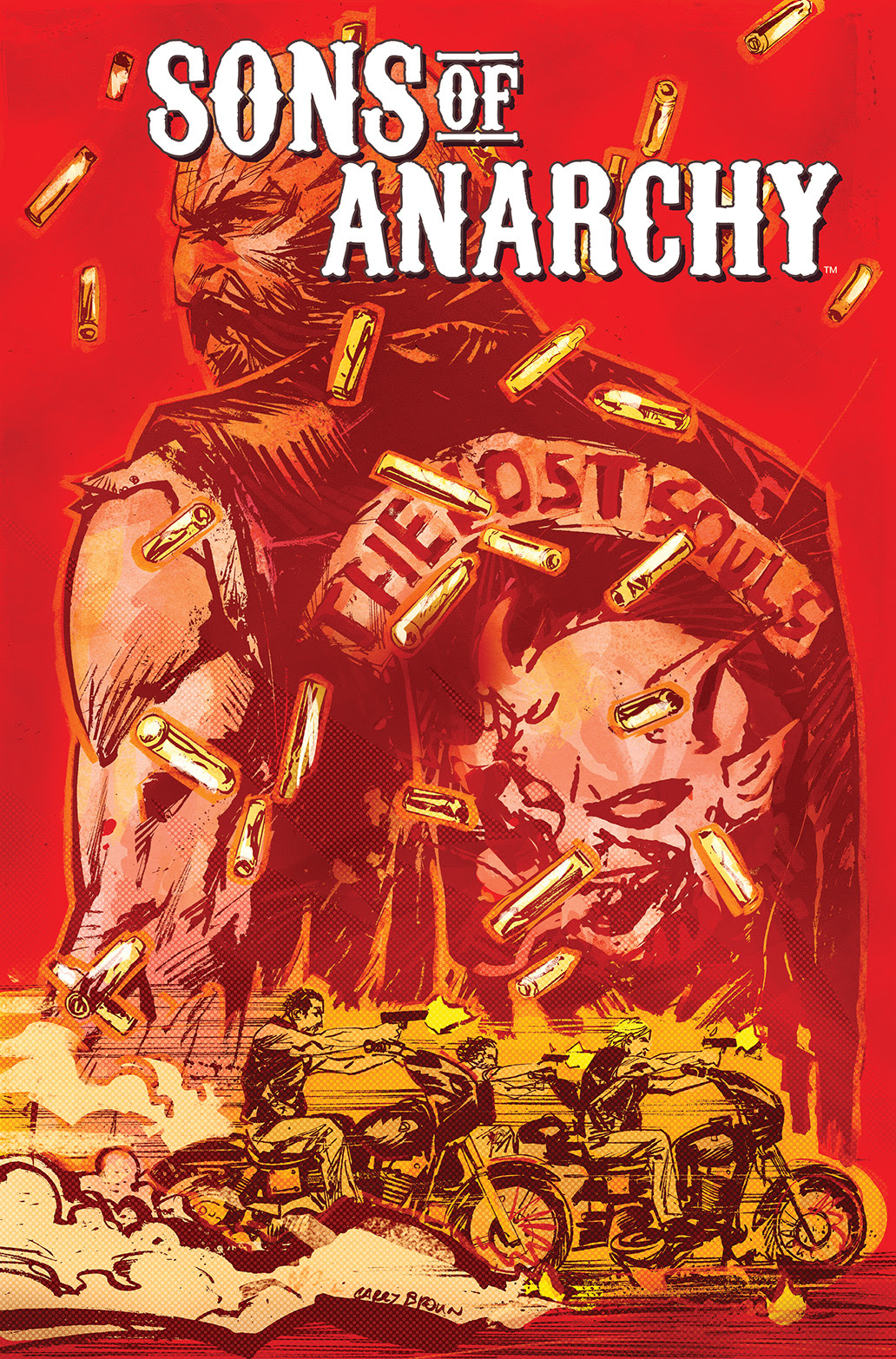 SONS OF ANARCHY #13 Cover by Garry Brown