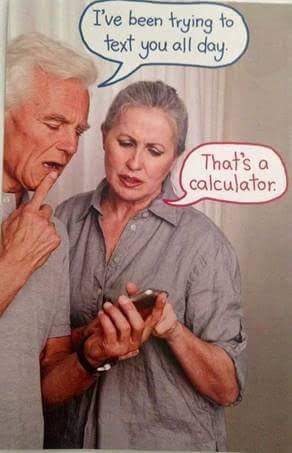 It' a calculator