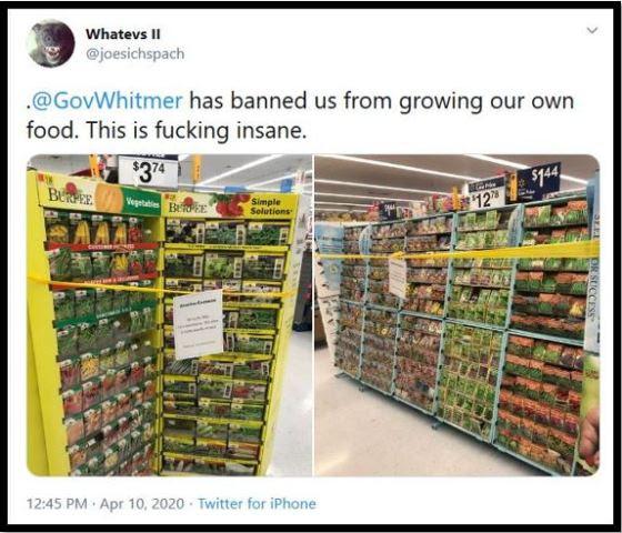 whitmer seeds