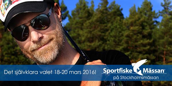 Sportfiskemässan 18-20 mars 2016