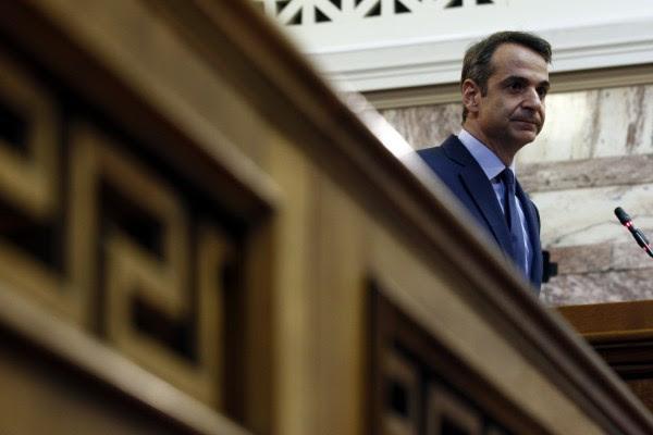 Συνάντηση Μητσοτάκη-Καραμανλή με αφορμή την επίσκεψη του πρώην πρωθυπουργού στη Θράκη