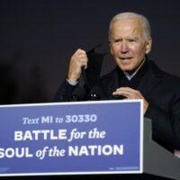 Biden officially