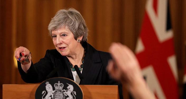 Theresa May, primera ministra británica