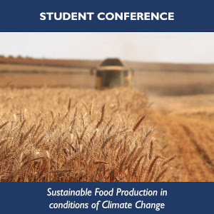 Student conference 2020, sustainable food production in conditions of climate change.