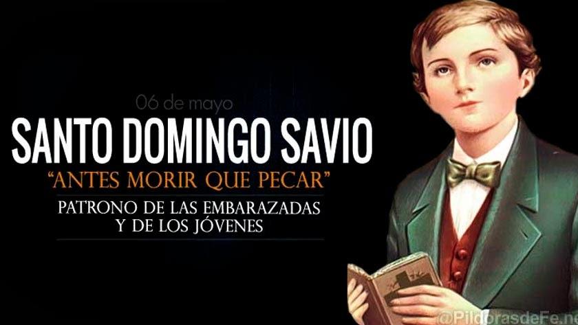 santo domingo savio discipulo san juan bosco biografia vida