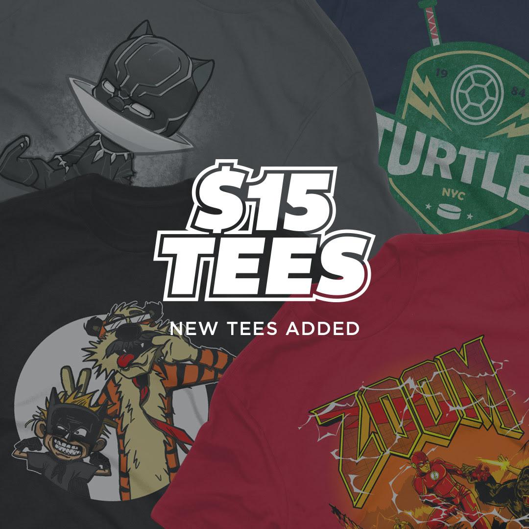 TeeFury - $15 Tees & P...