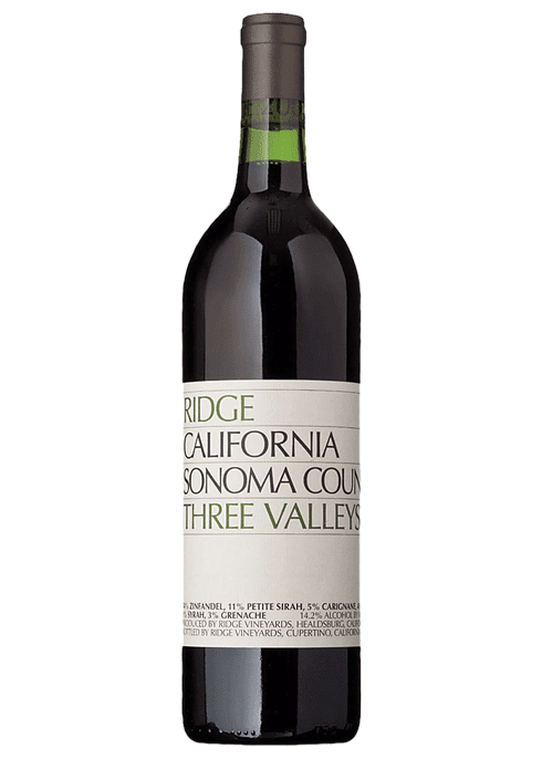 Image result for 2017 three valley ridge zinfandel