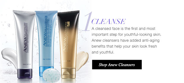 Anew Cleansers