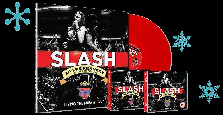 Slash Living the Dream Packshot