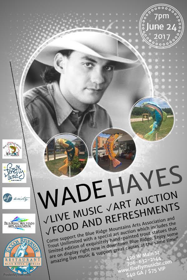 Wade Hayes concert June 24