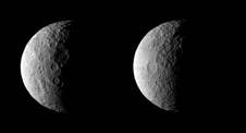 NASA's Dawn spacecraft took these images of dwarf planet Ceres