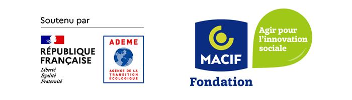 Avec le soutien de :ADEME - Agence de la transition écologique // Fondation MACIF