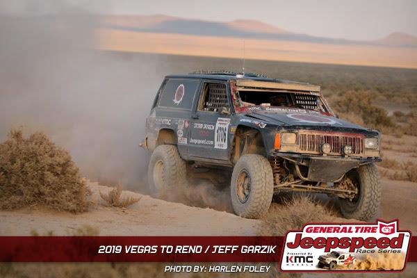 Jeff Garzik, Jeepspeed, General Tire, KMC Wheels