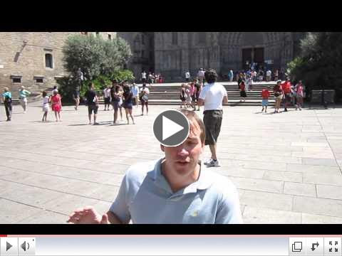 Watch John Sage describe accessibility in Barcelona's city center
