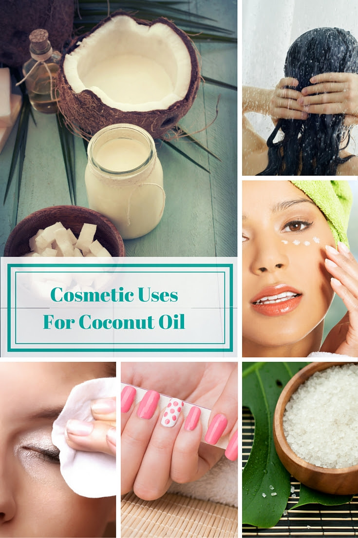 COSMETIC USES FOR COCONUT OIL.