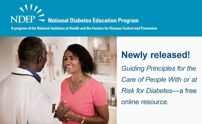 Guiding Principles for Diabetes Care