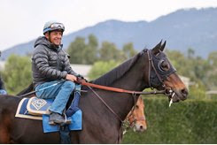 Victor Espinoza hasn't ridden in a race since July 21 at Del Mar