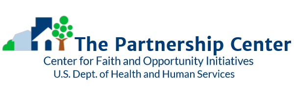 The HHS Partnership Center logo