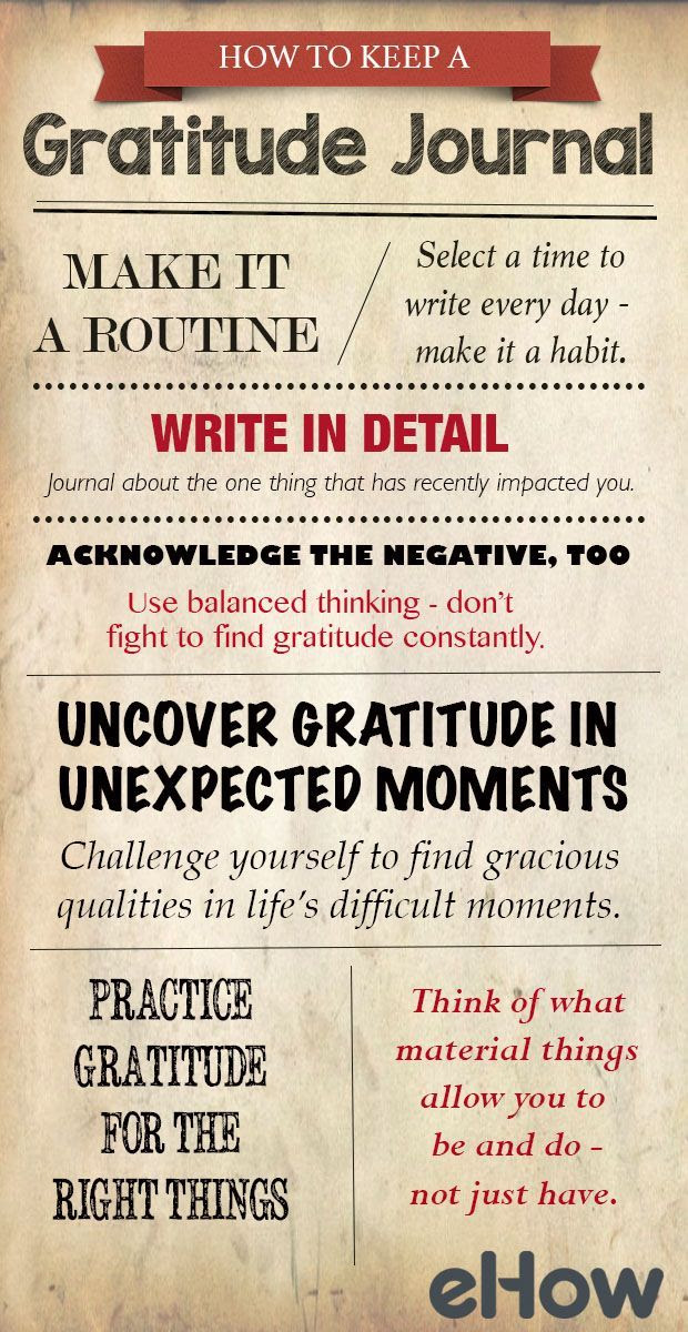 How to keep a gratitude journal. Original pinner sez: Simple ways on how to start, and keep, a gratitude journal. http://www.ehow.com/how_2088881_keep-gratitude-journal.html?utm_source=pinterest.com&utm_medium=referral&utm_content=blog&utm_campaign=fanpage