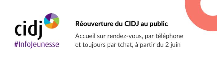 Réouverture du CIDJ au public