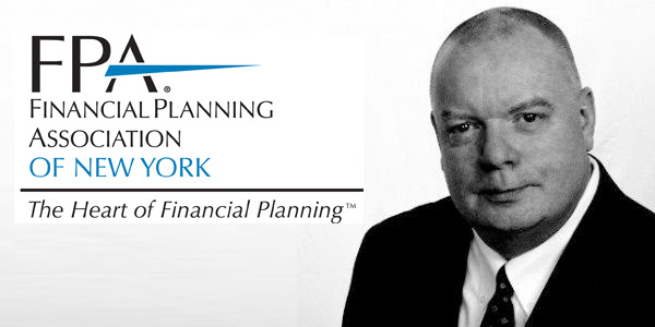 Simon Brady, Certified Financial Planner for the Financial Planning Association of New York