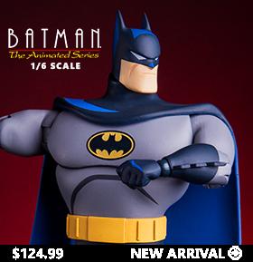 BATMAN: THE ANIMATED SERIES 1/6 SCALE BATMAN FIGURE