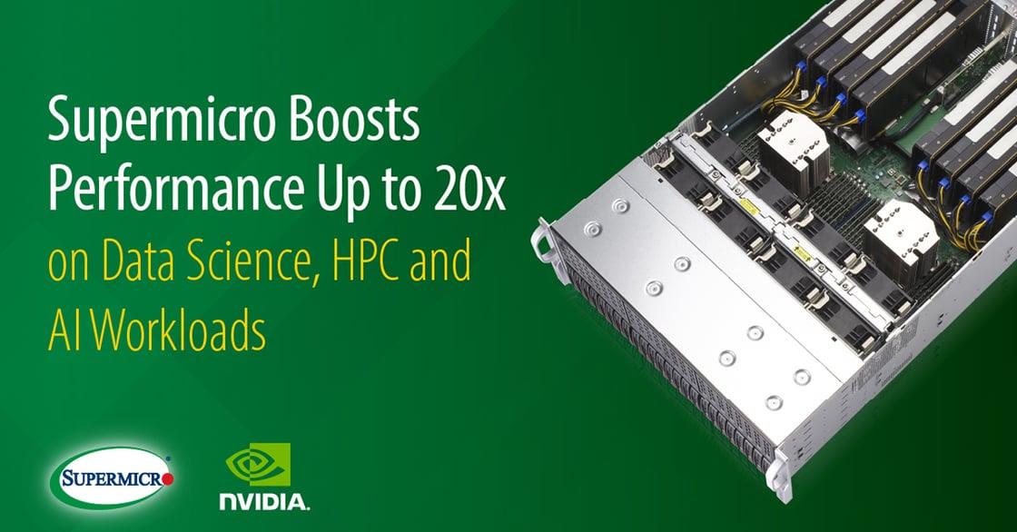 Supermicro NVIDIA A100 PCIe