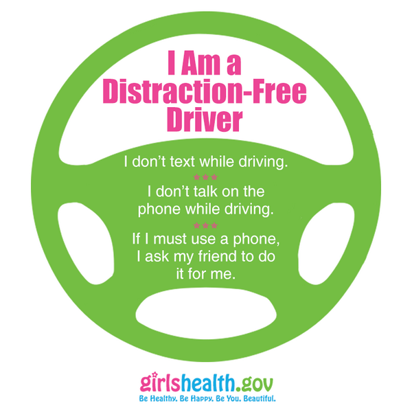I Am a Distraction-Free Driver