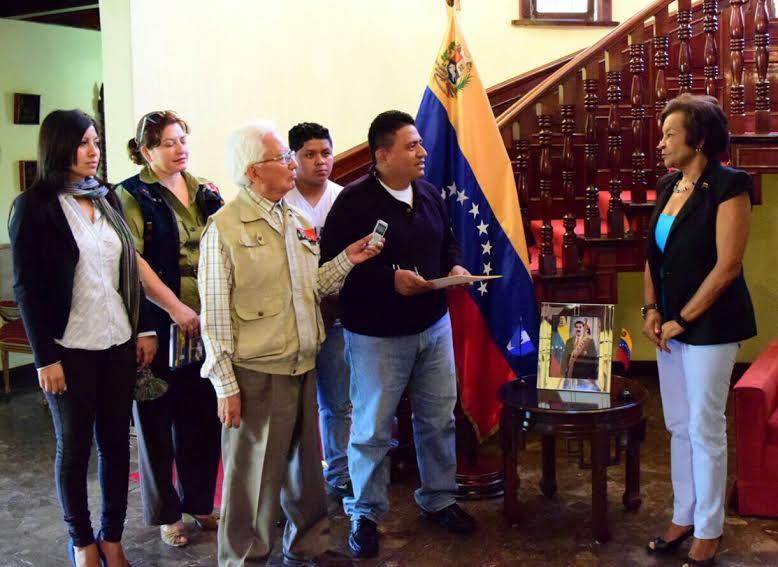 Frente Nacional de Lucha de Guatemala y otras organizaciones se solidarizaron con Venezuela