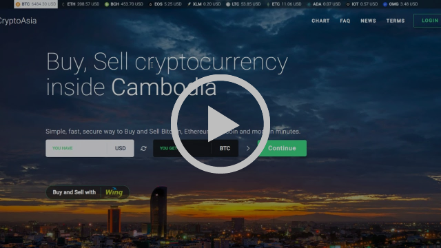 cambodian bitcoin cryptocurrency marketplace demo