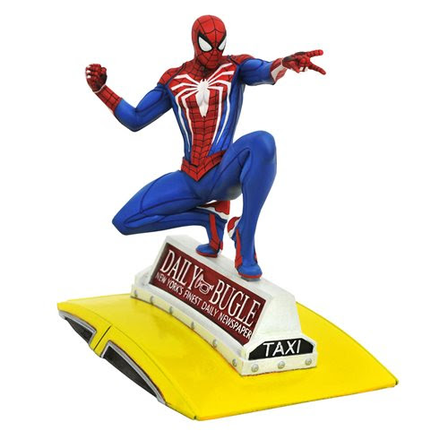 Image of Marvel Gallery PS4 Spider-Man on Taxi Statue - FEBRUARY 2021