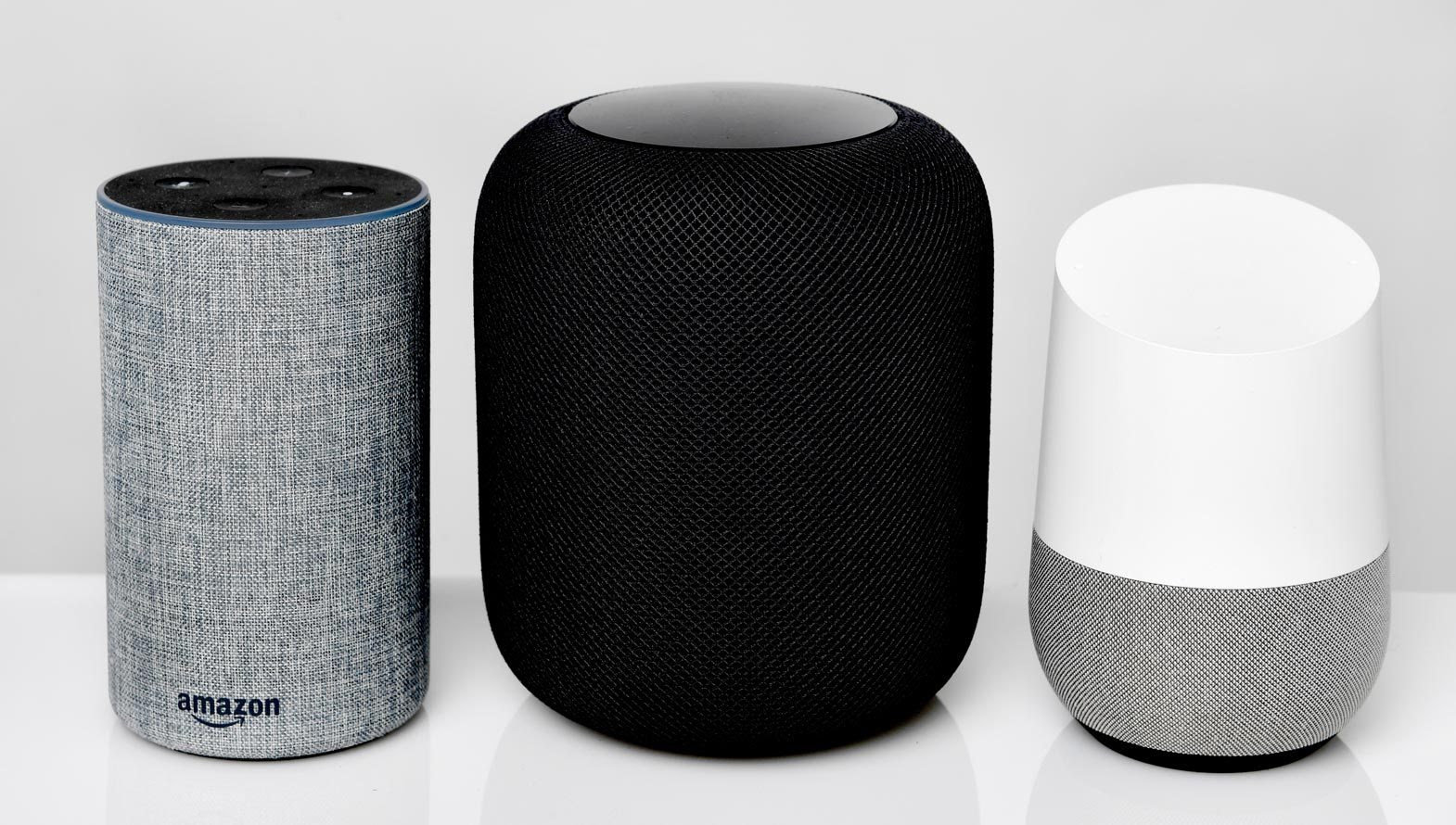 Alexa, Apple Homepod, Google Home