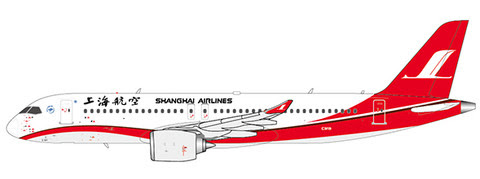 XX4083 | JC Wings 1:400 | Comac C919 Shanghai Airlines | is due: May 2020
